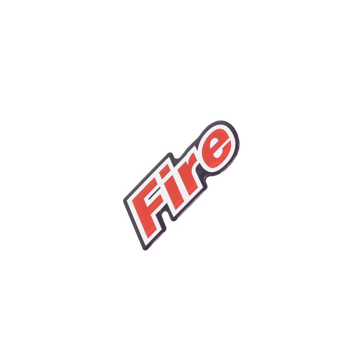 Emblema Fire Lateral (Resinado)