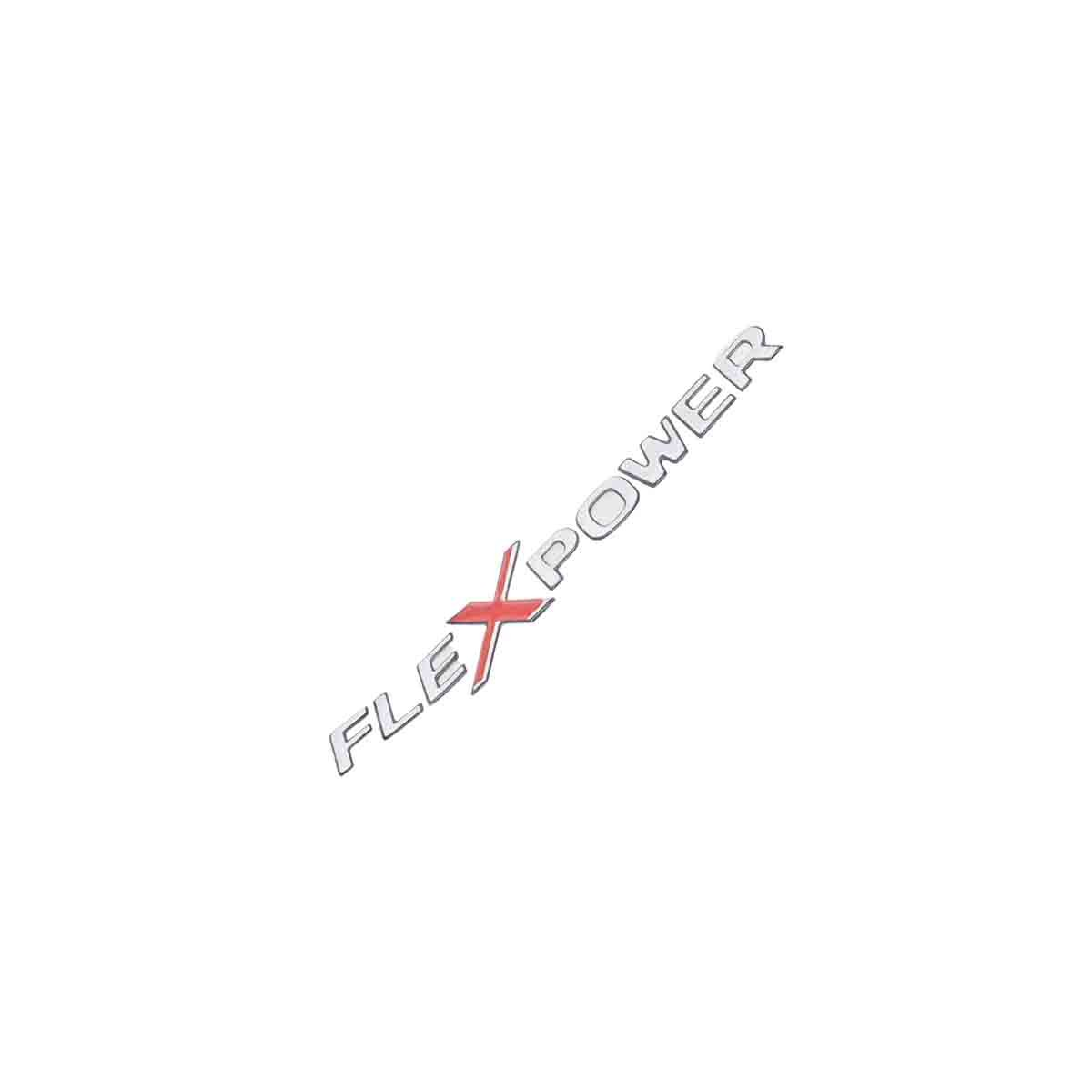 Emblema Flexpower Resinado GM