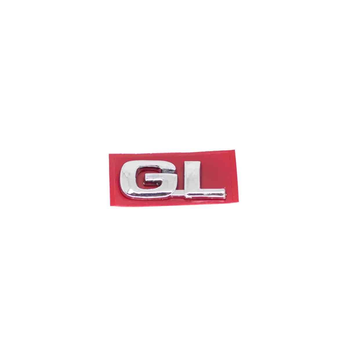 Emblema GL 96/ GM Cromado