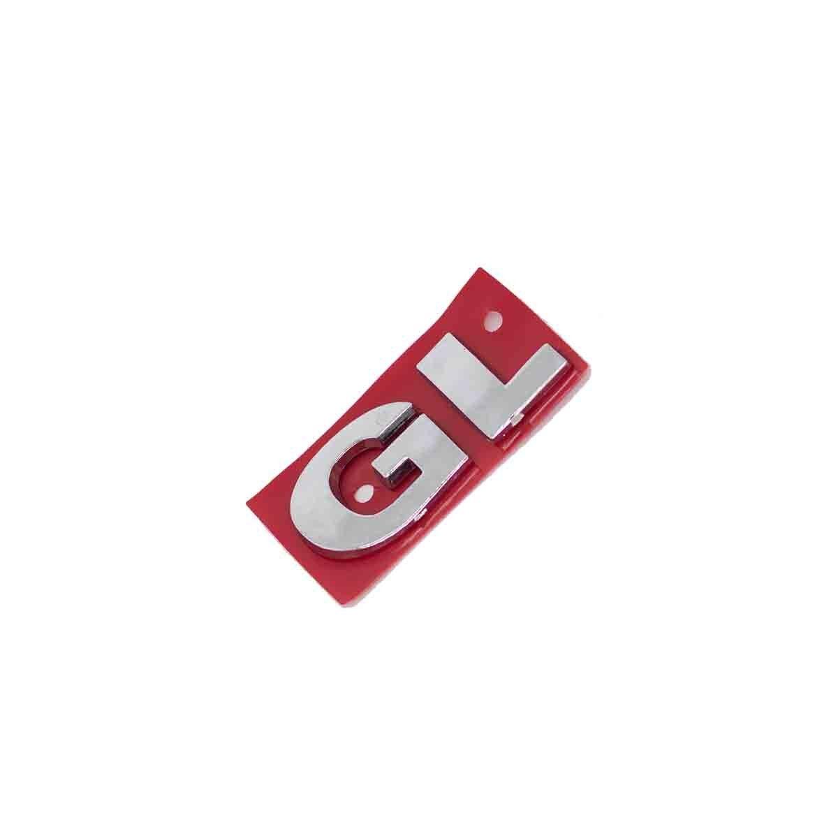 Emblema GL VW G3 Cromado
