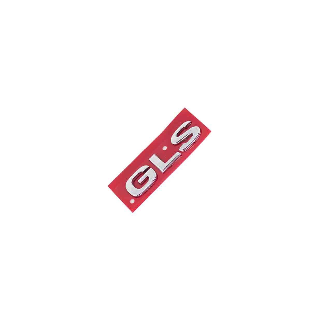 Emblema GLS 02/03 Vectra/Astra/Zafira Cromado