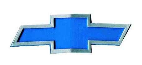 Emblema Grade GM Gravata Azul