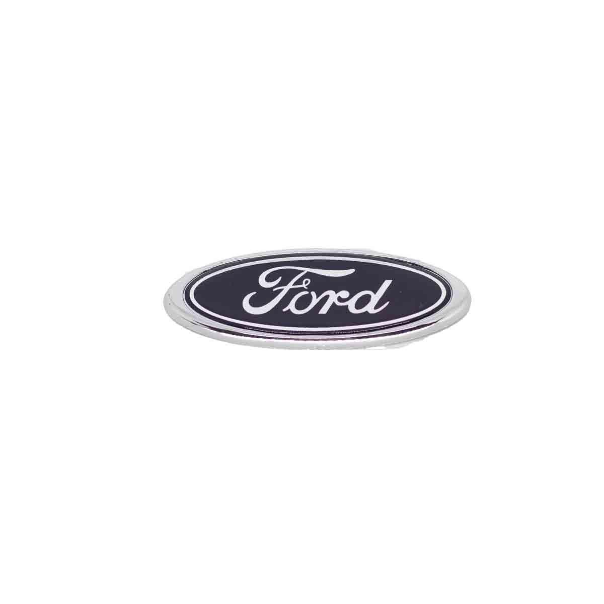 Emblema Porta Malas Ford Oval Zetec 98/ Encaixe
