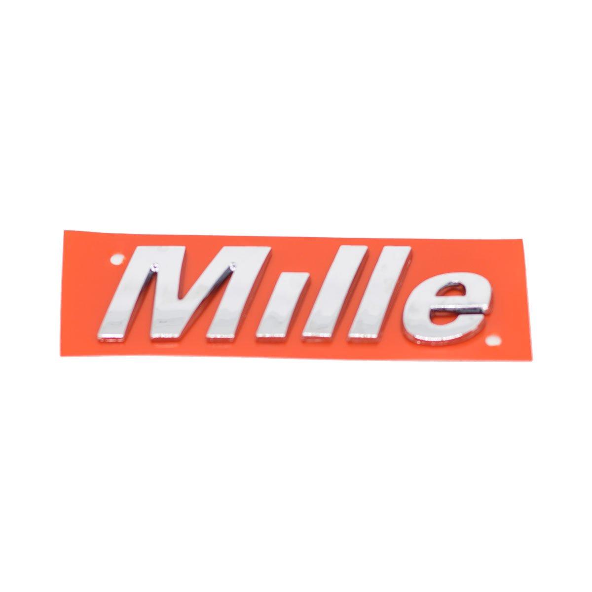 Emblema Mille 04/5 Cromado
