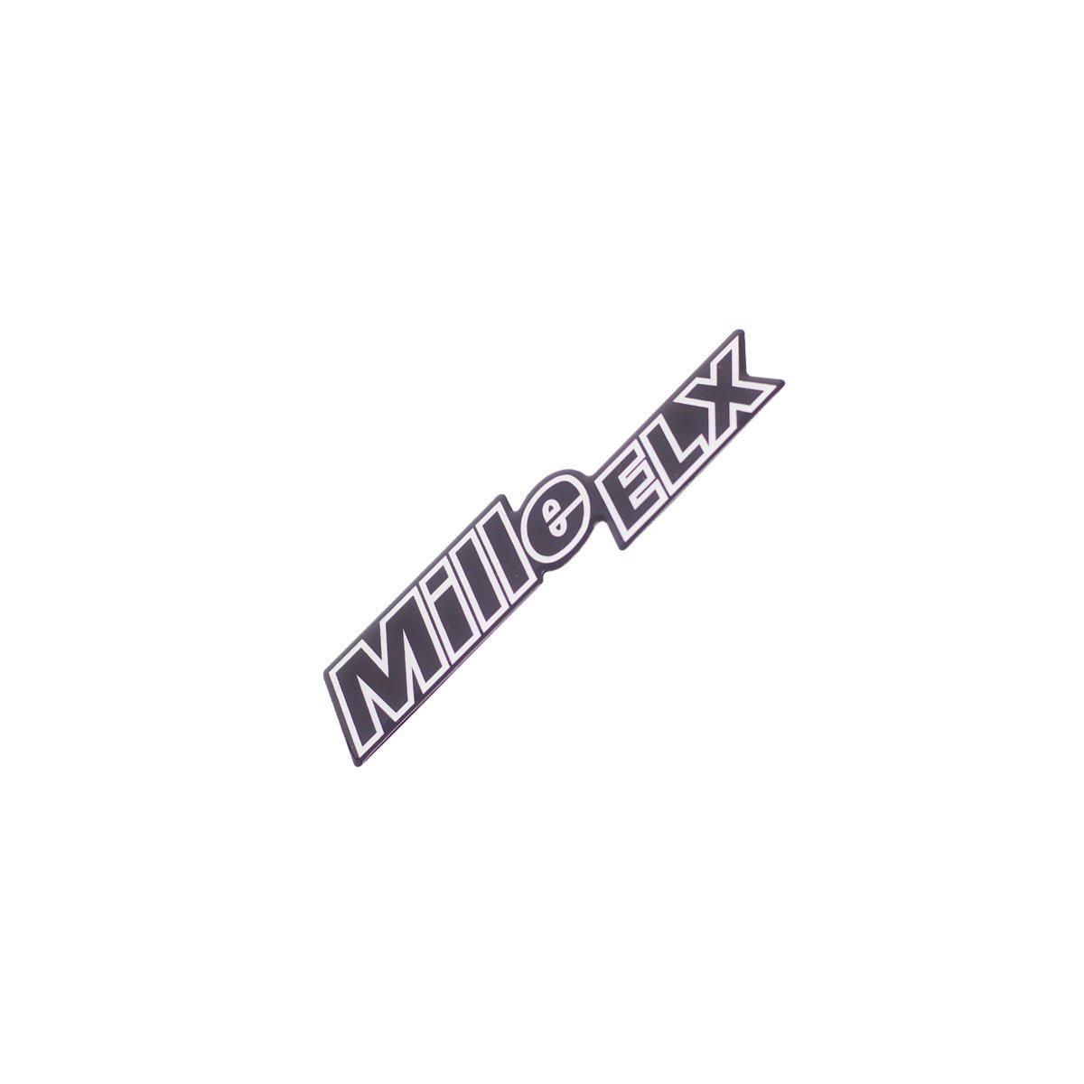 Emblema Mille ELX Resinado Fiat