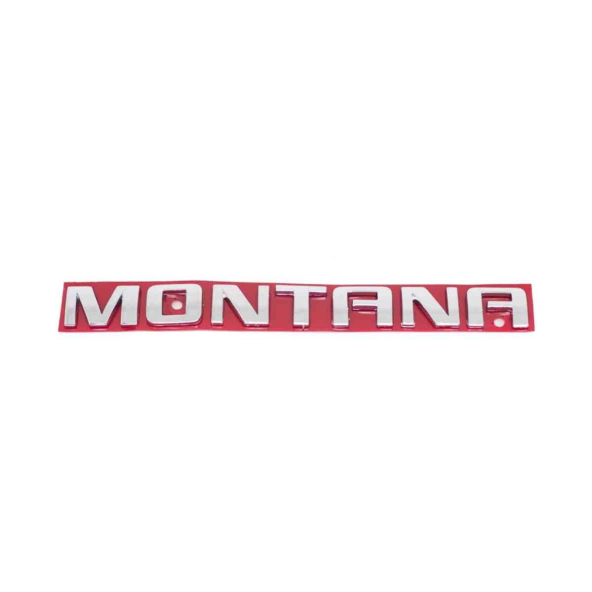 Emblema Montana 07/ Cromado