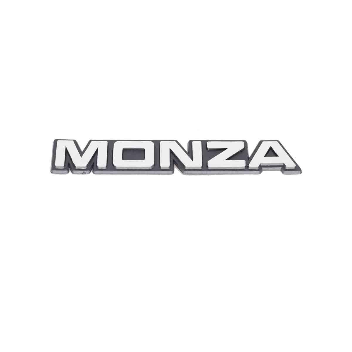 Emblema Monza Antigo Cromado