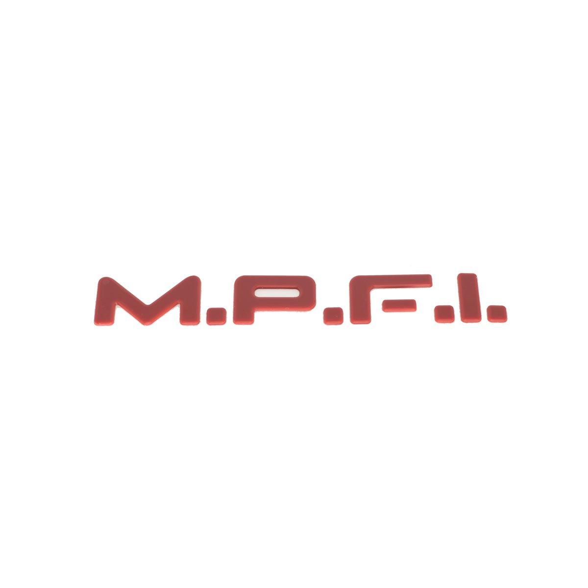 Emblema MPFI (Kadet/Monza) Vermelho