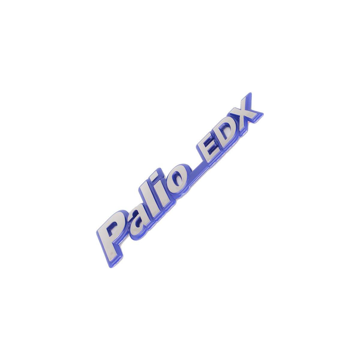 Emblema Palio EDX 97 Cromado/Azul