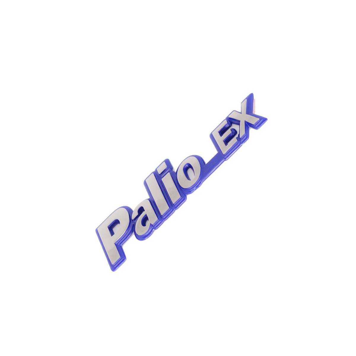 Emblema Palio EX 97 Cromado/Azul