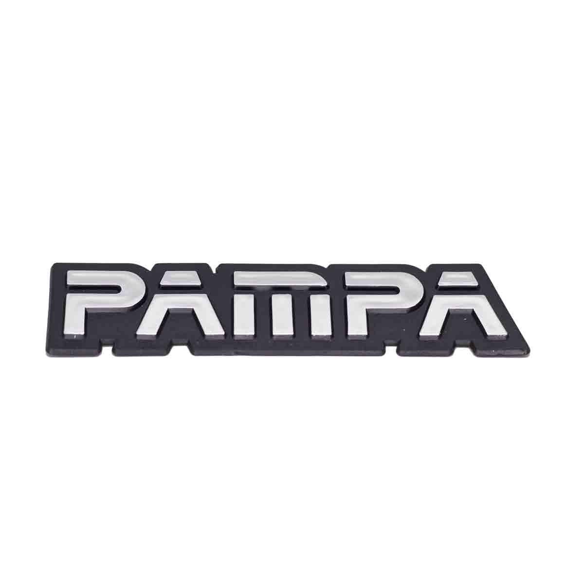 Emblema Pampa Brilhante