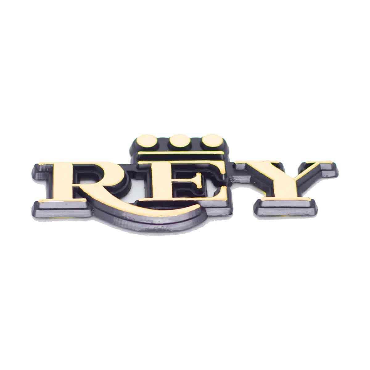 Emblema Rey Antigo Ouro