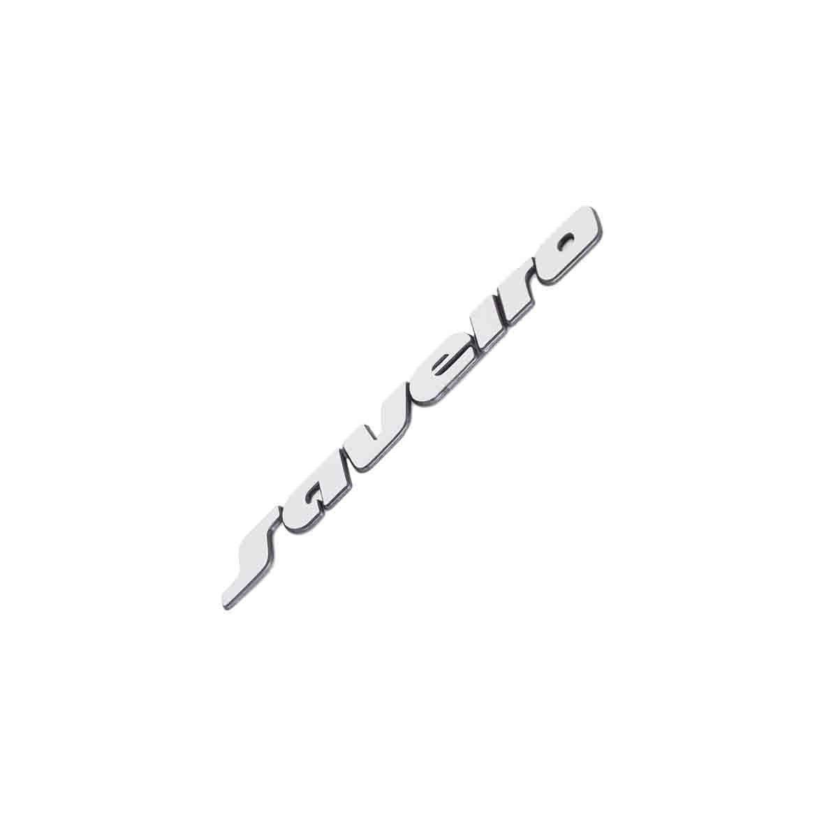 Emblema Saveiro 97/99 Escovado