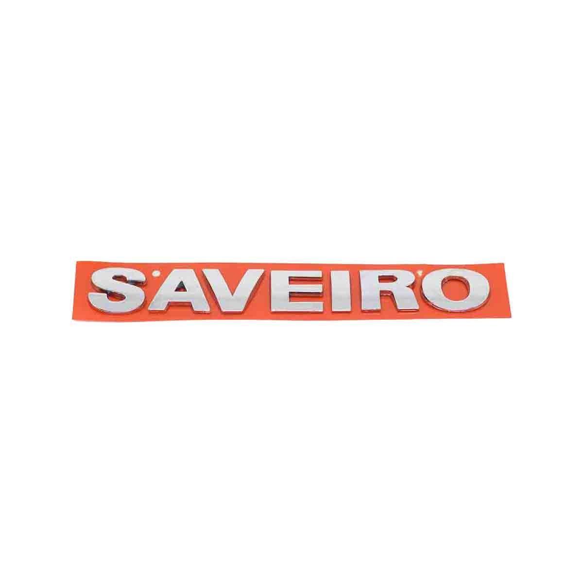 Emblema Saveiro G3 Cromado