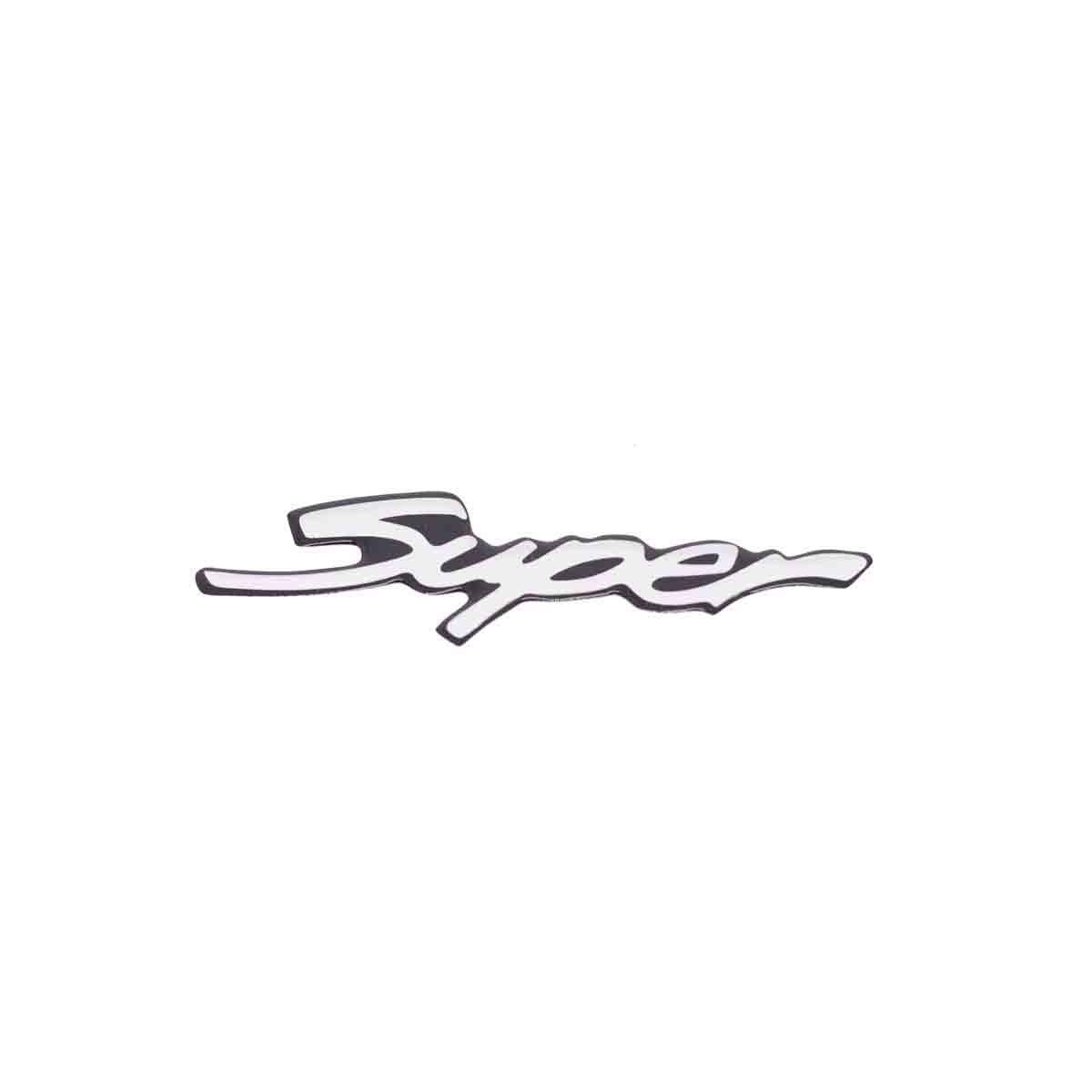 Emblema Super Corsa 97/98 GM Pequeno