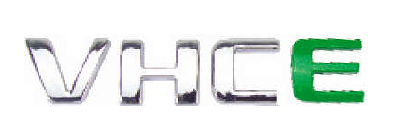 Emblema VHC E (E Verde) GM