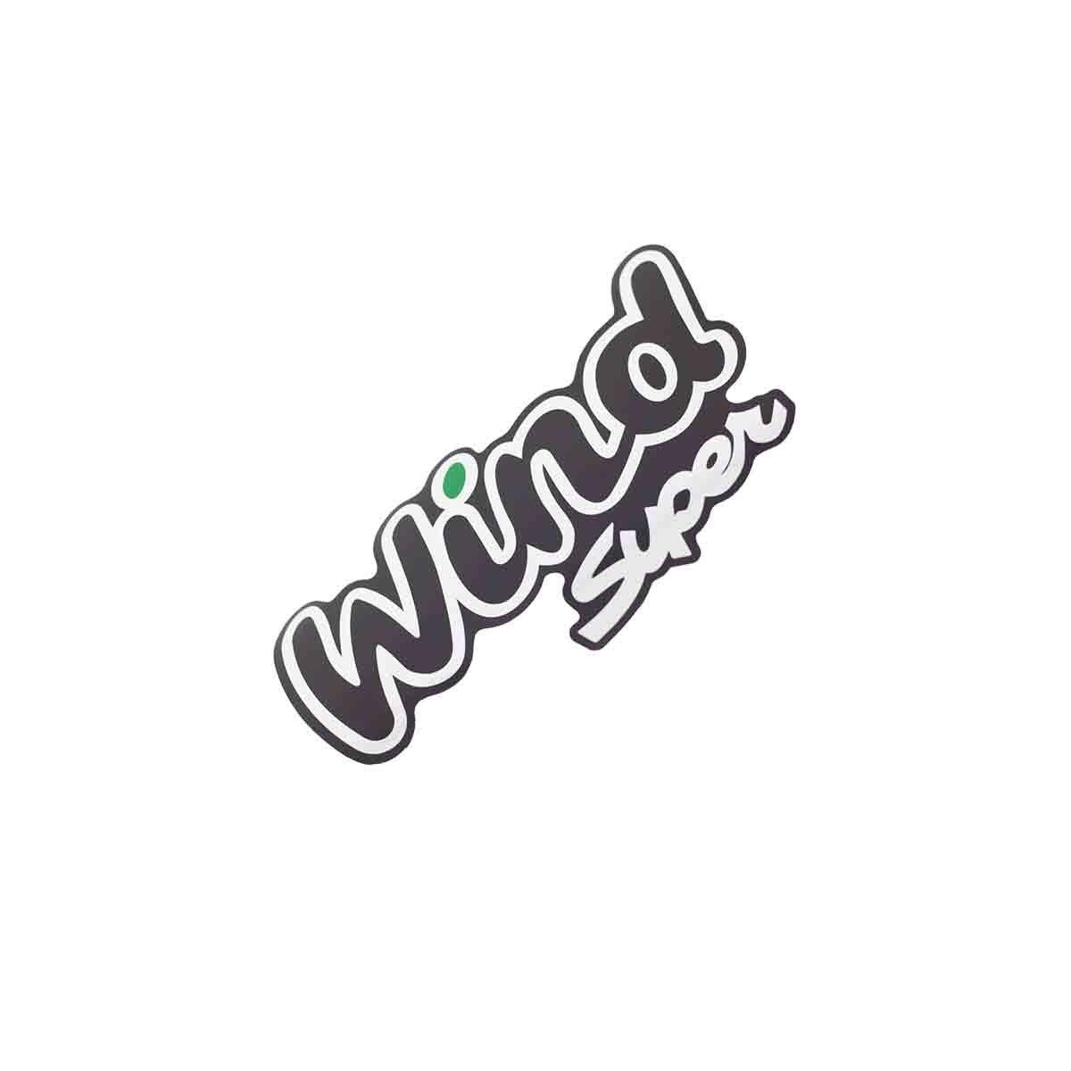 Emblema Wind Super Verde Corsa