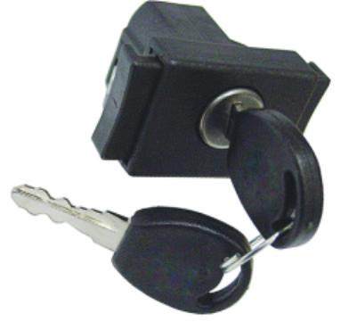 Fecho Porta Luvas   Pampa 1985 até 1997   Com Chave