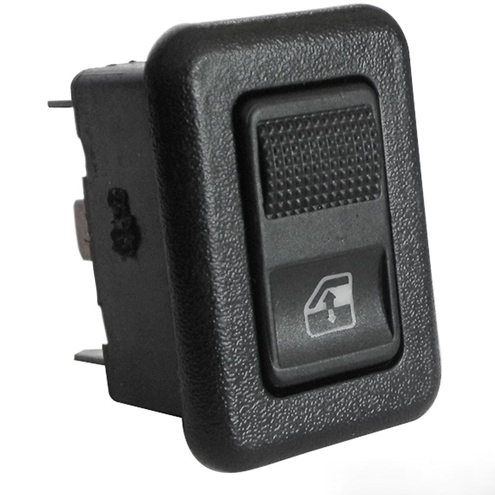 Interruptor Vidro Elétrico Gol 95/ Simples Preto