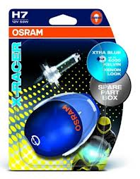 Lâmpada Osram Cool Blue XRacer H7 12v 60/55w
