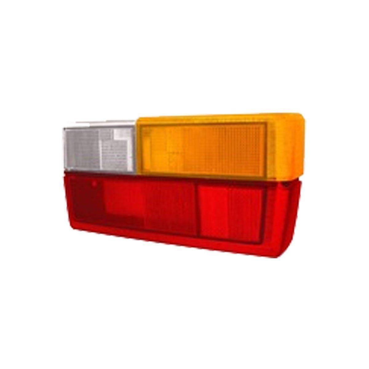 Lanterna Traseira Gol 1980 até 1986 | Com Friso Preto | Ambar