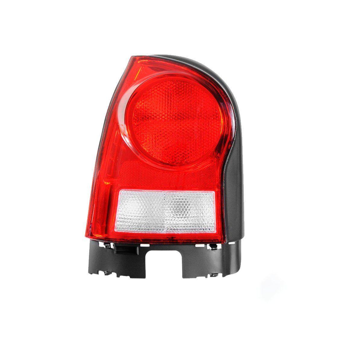 Lanterna Traseira Gol 2006 até 2012 | Vermelha | Ré Cristal