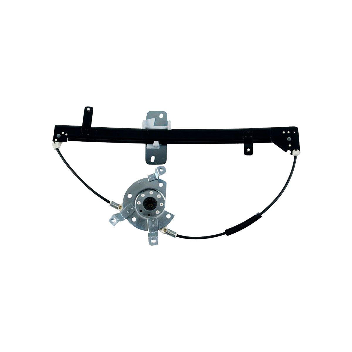 Máquina Vidro Elétrica  Gol 1998 até 2007  4 Portas  Sem Motor  Fixação Mabuchi Traseira