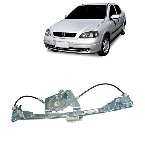 Máquina Vidro Elétrica Sem Motor Fixação Original   Astra Hatch 2004 até 2011   Astra Sedan 1998 até 2011   4 Portas Traseira