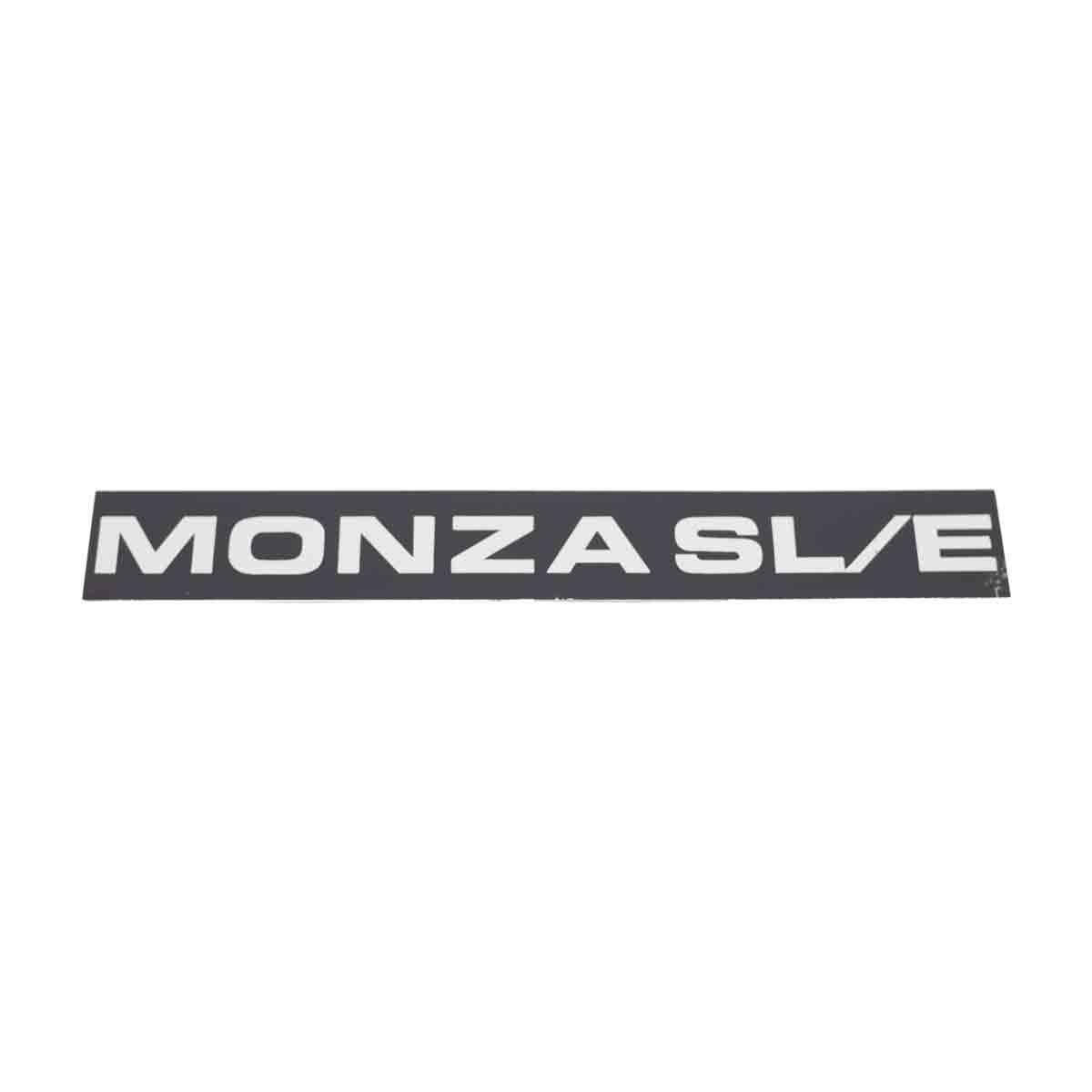 Plaqueta Friso Lateral Monza SL/E 87/89 Larga