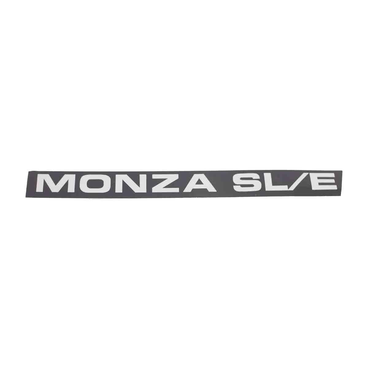 Plaqueta Monza /87 SL Fina