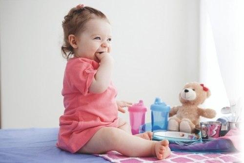 Jogo de Talheres Infantil Inox Le Petit 6pc Azul Tramontina