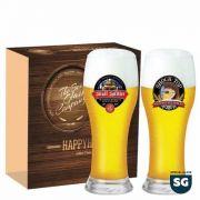 Jogo Copos Cerveja Brasserie Decorado 590ml 2 Peças Ruvolo