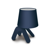 Abajur 23cm Bivolt Pet Light Azul Hugy Design