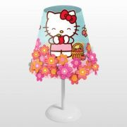 Abajur Infantil Conico Hello Kitty Bivolt Startec