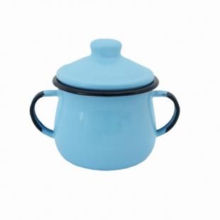 Açucareiro Aço Esmaltado 10 Azul Claro Ewel