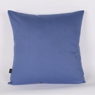 Almofada 45x45cm Com Enchimento Sarja Lisa Azul Cortbras