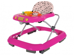 Andador Safari Rosa Tutti Baby