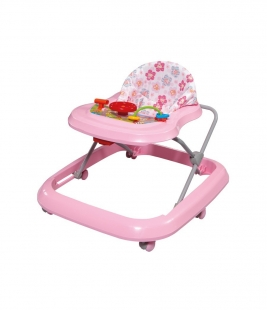 Andador Toy Rosa Bebê Tutti Baby