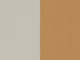 Aparador Coral 150cm Natural/Off White Brilho/Cobre Rudnick