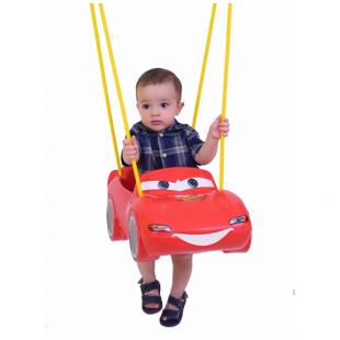 Balanço Carros Disney com cordas Xalingo