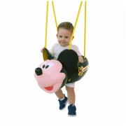 Balanço Mickey com cordas Xalingo