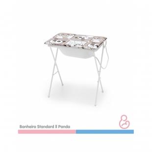Banheira Bebe Plástica Standard ll Panda Galzerano