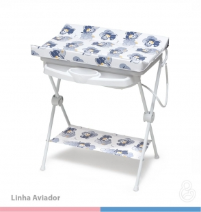 Banheira Infantil Luxo Rígida Aviador Galzerano