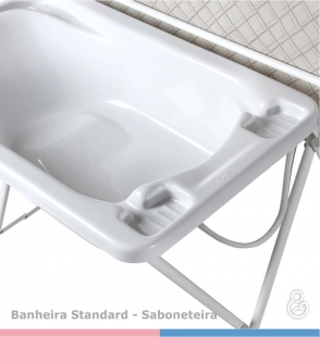 Banheira Plástica Standard Panda Galzerano