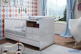 Berço Cama Multifuncional Normatizado Branco Completa Móveis