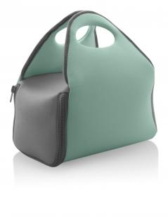 Bolsa Térmica Neoprene Verde Menta/Cinza BT100 OU
