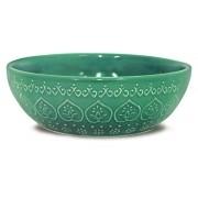 Bowl  Relieve 523ml Green Corona Yoi