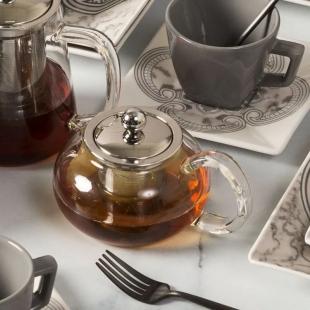 Bule de Chá com Infusor Inox 500 ml Oxford