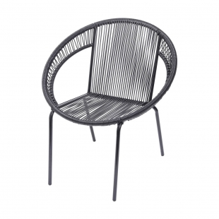 Cadeira Cancun 1165 Preta Or Design