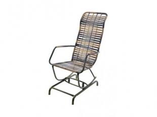 Cadeira de Balanço Fibra Cappuccino Bel'Star